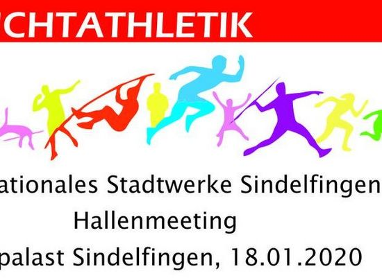 Internationales Stadtwerke Sindelfingen Hallenmeeting - 18.01.2020